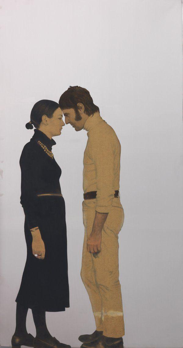 """Michelangelo Pistoletto,"""" Lei e Lui """"."""