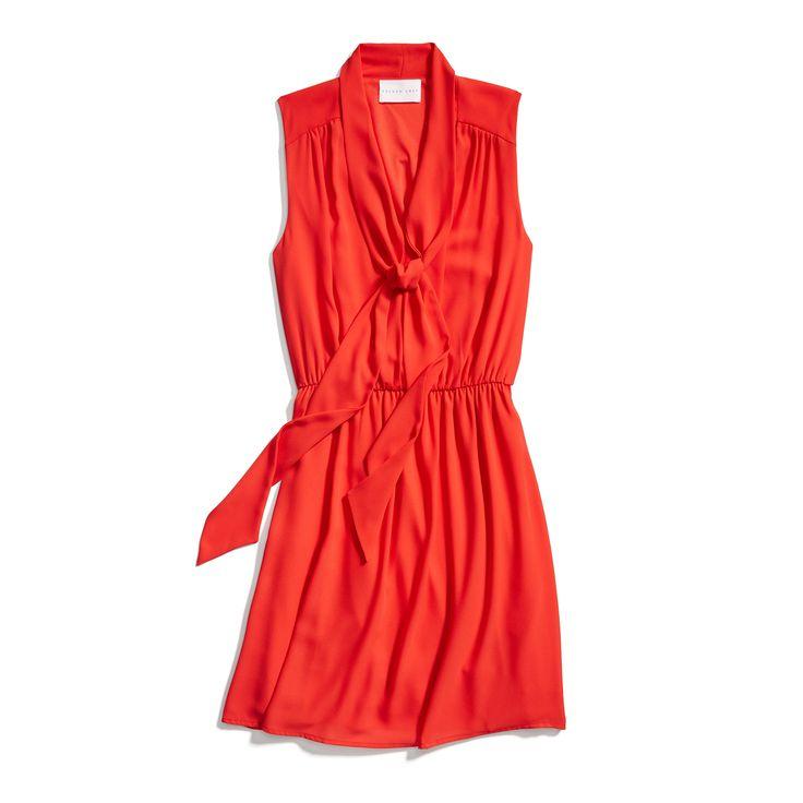 Stitch Fix Spring Styles: Red Tie Detail Dress