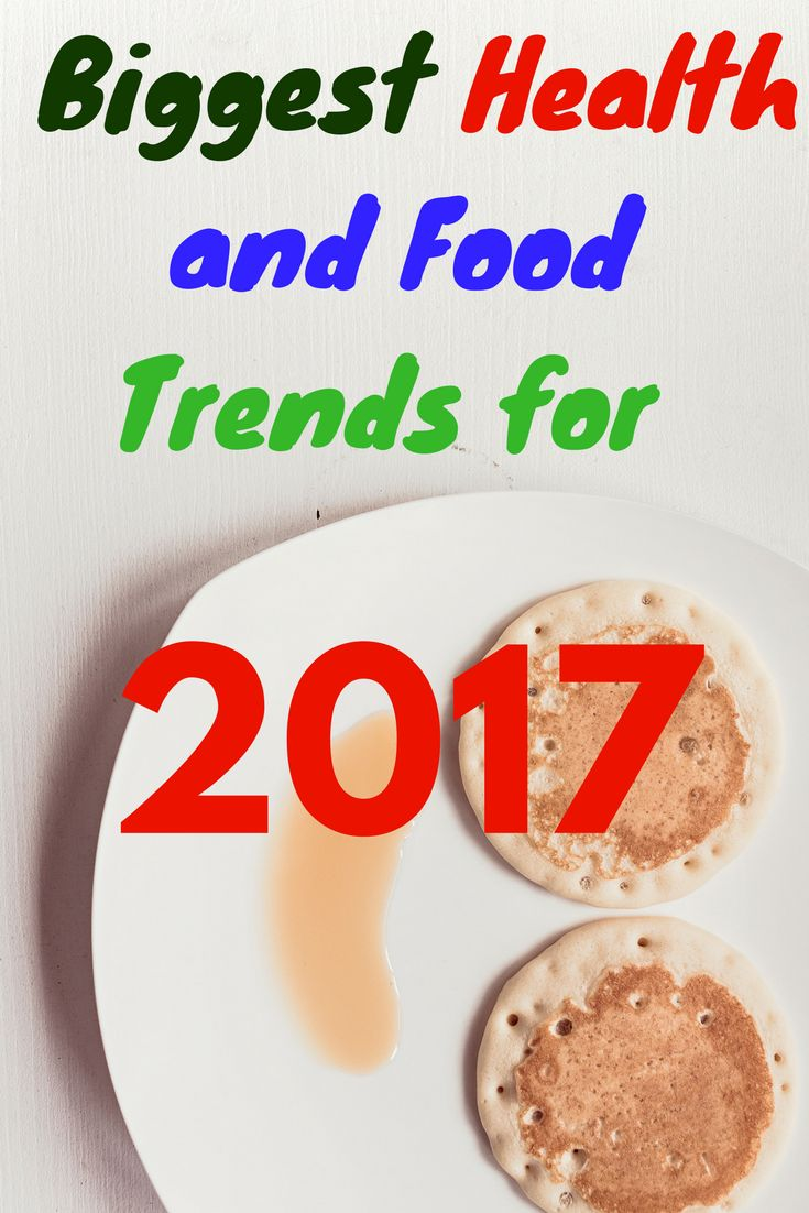 Biggest Health and Food Trends for 2017