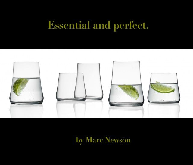Just glasses,  by Marc Newson. http://www.cbstudio.net/gift-ideas/marcnewson.html #gift #glass #kitchen #elegance #design #drink