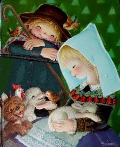 17 mejores im genes sobre ferrandiz navidad en pinterest - Cuadros infantiles silvia munoz ...