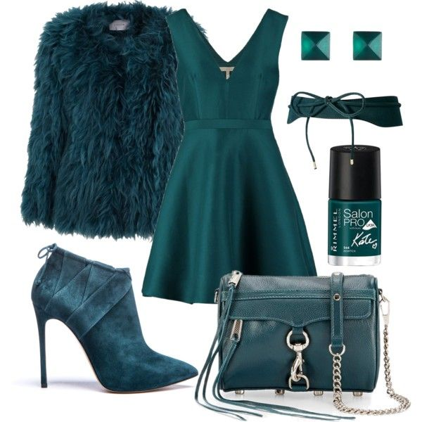 """emerald wave"" by olesya-spolokhova on Polyvore"