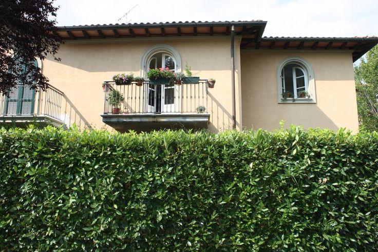 Villa con giardino vicinissima alla città di recente realizzazione in ottimo stato. Disposta su 2 piani si compone di : INGRESSO, SOGGIORNO, CUCINA ABITABILE CON RIPOSTIGLIO, BAGNO. Al piano superiore CAMERA MATRIMONIALE CON BAGNO, CAMERA CON TERRAZZO, CAMERA E BAGNO. Ben rifinita, Ottimo contesto residenziale nel verde e tranquillo. Giardino su 3 lati , 2 posti auto. Ottima. Rif. 6080 Euro 350.000  Scheda completa su: http://www.casamica.com/scheda_completa.php?idimm=6080