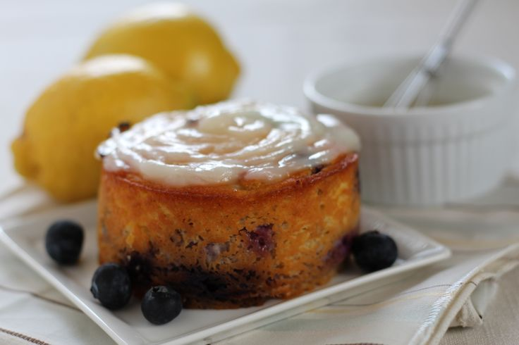 #paleo Simple Blueberry Lemon Birthday Cake | For the cake(s): ⅔ cup coconut flour, sifted; 5 eggs; ⅓ cup almond milk;   ¼ cup raw honey; 2 tsp vanilla extract; juice of 2 lemons; 1 tsp lemon zest; ½ tsp baking soda; pinch of salt; ½ cup fresh blueberries; 1-2 T coconut oil | For the frosting: ½ cup coconut cream concentrate or homemade coconut butter, melted; juice of 1 lemon; ⅛ cup raw honey