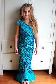 Tausend schöne Sachen...: Meerjungfrau-Kostüm