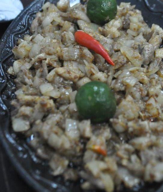 Craving for Kapangpangan's Sisig.