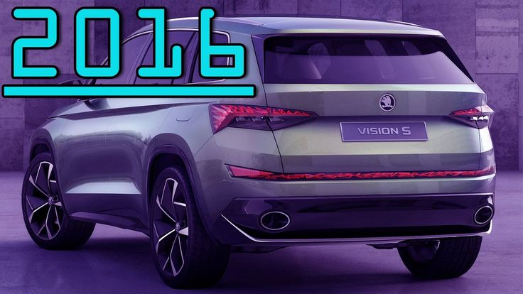 ►All New Plug in Hybrid 2016 Skoda VisionS Concept SUV Review First Driv...