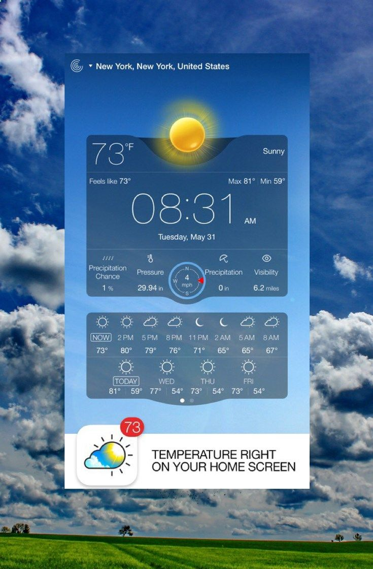 Weather Live - Weather Forecast, Radar and Alerts on the App Store, your weather live as it happens!!