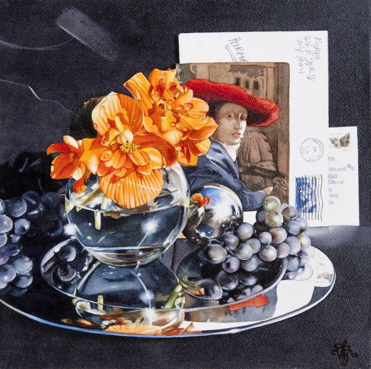 'Red Hat' by Vivian Thierfelder at Mayberry Fine Art