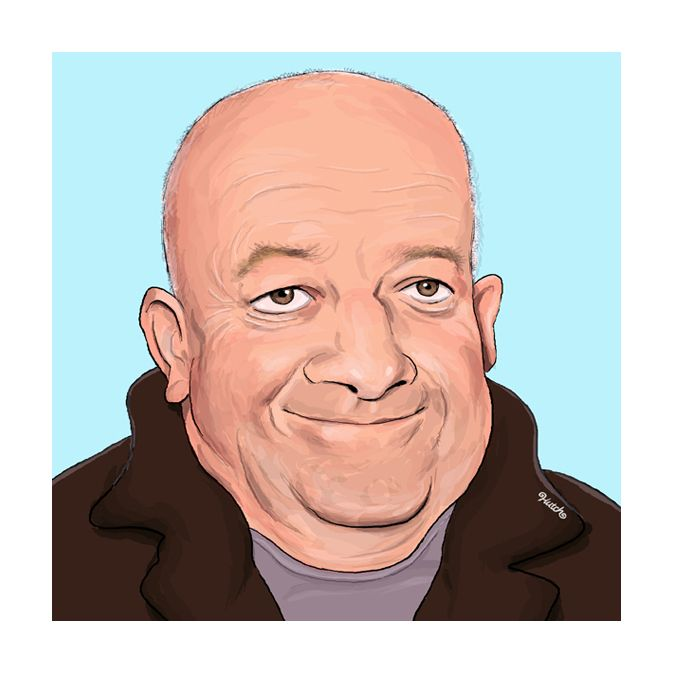 Newcastle born TV legend Tim Healy by Gateshead-based artist Paul Hutchinson.  Digital print on 250gsm quality silk-effect paper. Comes mounted with backing board in polythene bag.  Approximate Print size: just over 8″x8″ (22cm x 22cm) Mount Size: 10″ x 10″ http://northeastgifts.co.uk/product/north-east-art-prints/paul-hutchinson-caricature-tim-healy/