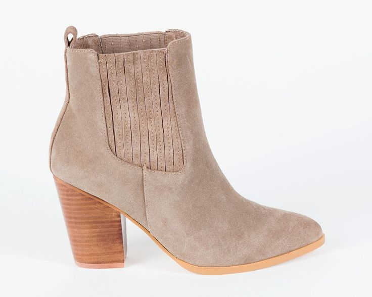 Hael and Jax - Milan Boots In Latte