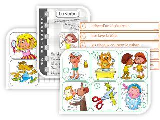 IPOTÂME ....TÂME: CP grammaire : découvrir le verbe d'action