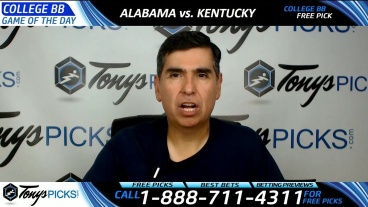 Alabama vs. Kentucky Free NCAA Basketball Picks and Predictions 3/11/17