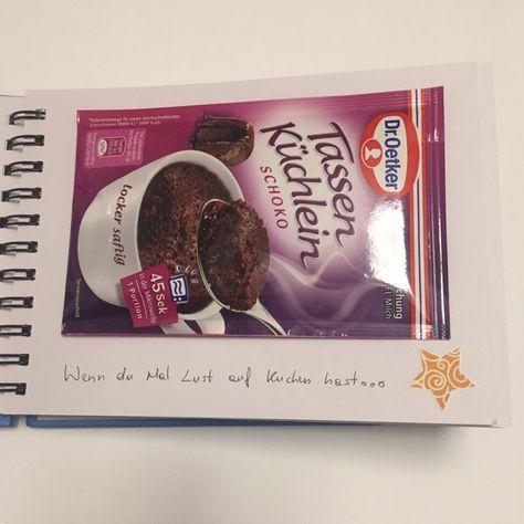 Wenn Buch Idee - Tassenkuchen: wenn du Lust auf Kuchen hast