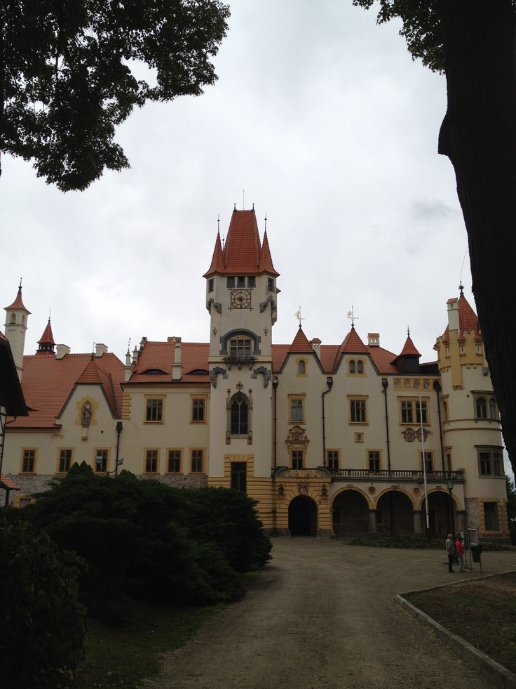 Žinkovy  (Castle) - Count Jan von Harrach