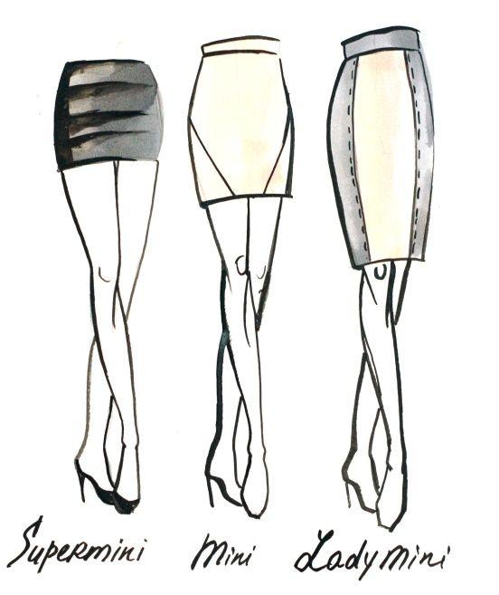 Zostań swoją własną stylistką! Część X: Długości spódnic - maxmodels.pl