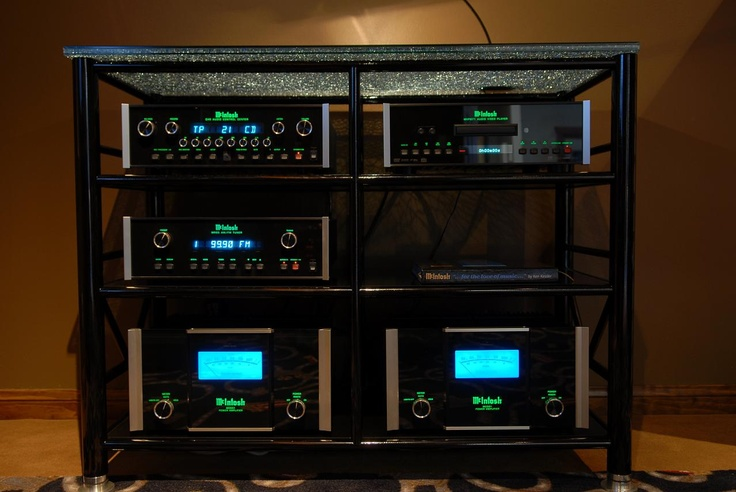 McIntosh audio components