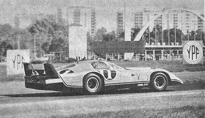 1970 Chelco V8 Chevy Sport Prototipo Argentina