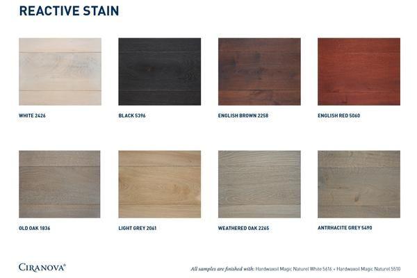 Reactive Stain Ciranova North America Weathered Oak Stain Oak Wood Stain Weathered Oak