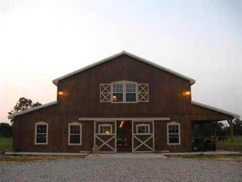 17 best ideas about barn living on pinterest barn houses for Pole barn with living quarters prices