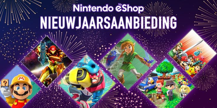 You can download new games, applications and other content from Nintendo eShop on your Nintendo Switch, Nintendo 3DS family system or Wii U, and also via this website. https://www.nintendoreporters.com/en/news/general/nintendo-eshop-new-year-sale/