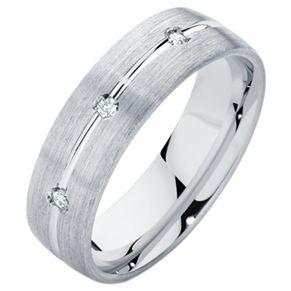 Men's wedding ring with diamonds!