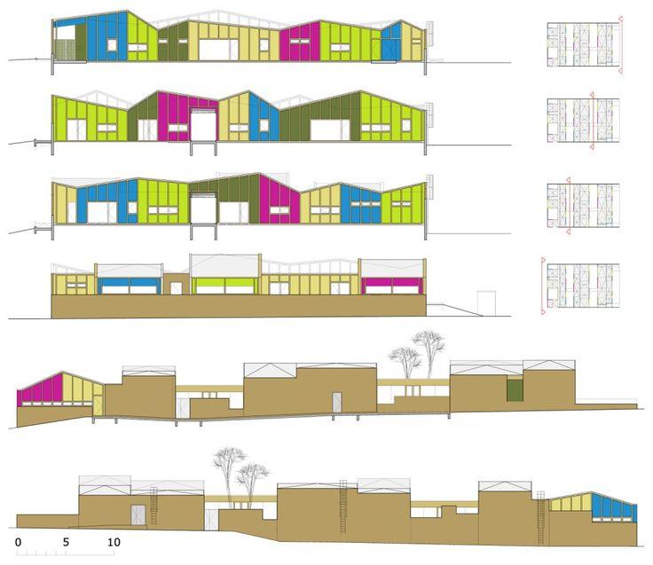 Kindergarden  Epinay Nursery School  BP Architectures