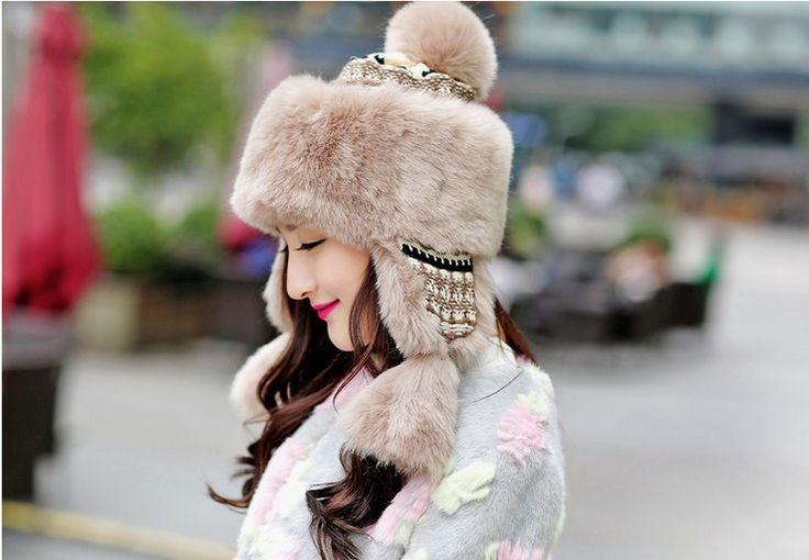 ae01.alicdn.com kf HTB1Z0ZqMVXXXXX.XFXXq6xXFXXX3 Free-Shipping-Winter-Warm-font-b-Earmuff-b-font-Knitted-Snow-Hat-Outdoor-Faux-Fur-Earflap.jpg