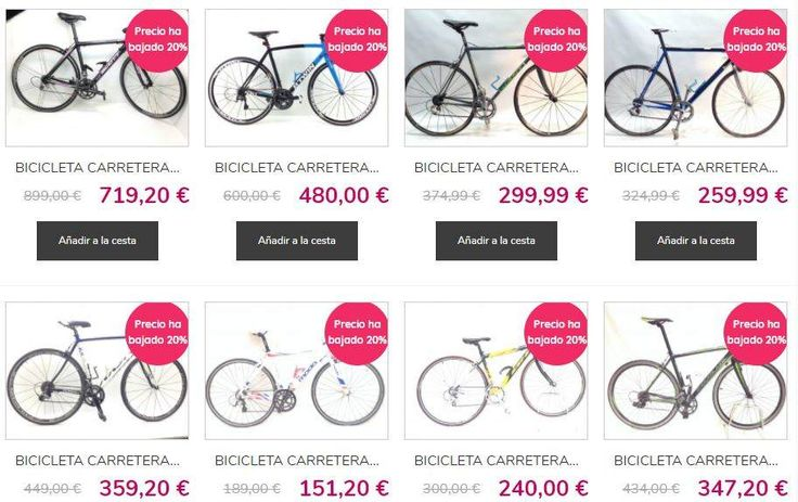 Ofertas bicicletas de segunda mano: montaña desde 20 euros y carretera desde 95 euros