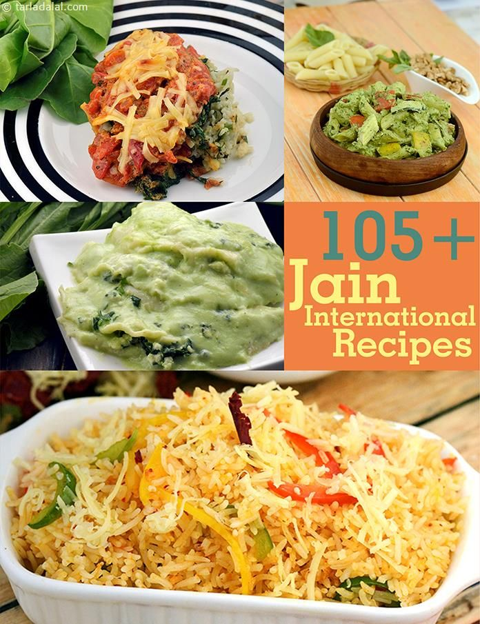 Jain International Recipes, Recipes for Jains, Tarladalal.com | Page 1 of 8