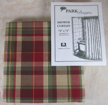red and tan shower curtain. Red Green Brown Tan Plaid Highland Ridge Shower Curtain  cabin up north wooded bathroom 20 best Curtains images on Pinterest curtains