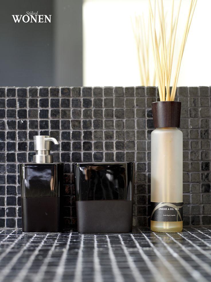 184 beste afbeeldingen van SW | Black & White - Badkamer, Huiskamer ...