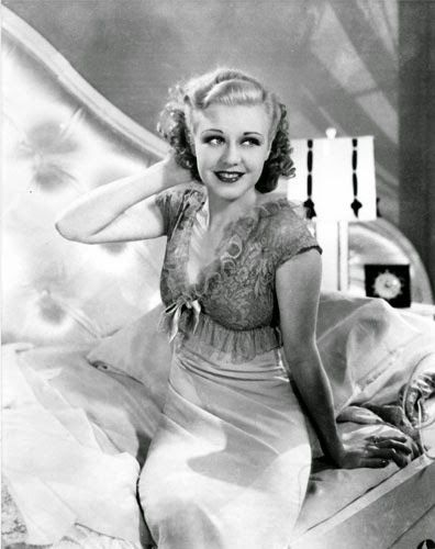 "Vintage Glamour Girls: Ginger Rogers in "" Top Hat """