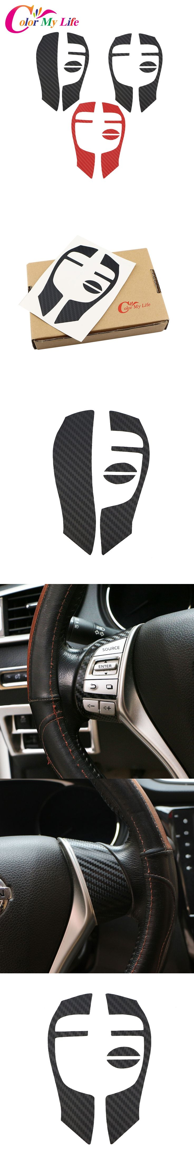 Color my life steering wheel sticker steering wheel logo