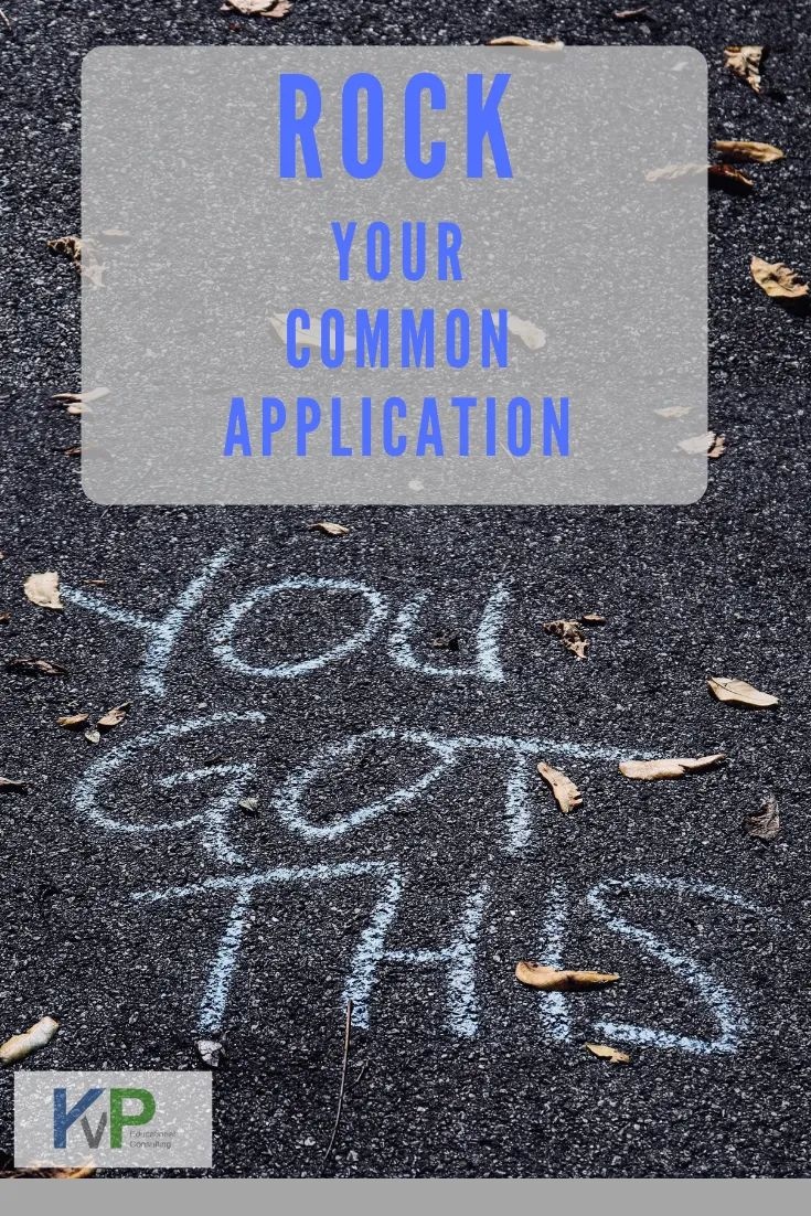 Rock your common application with these tips common app