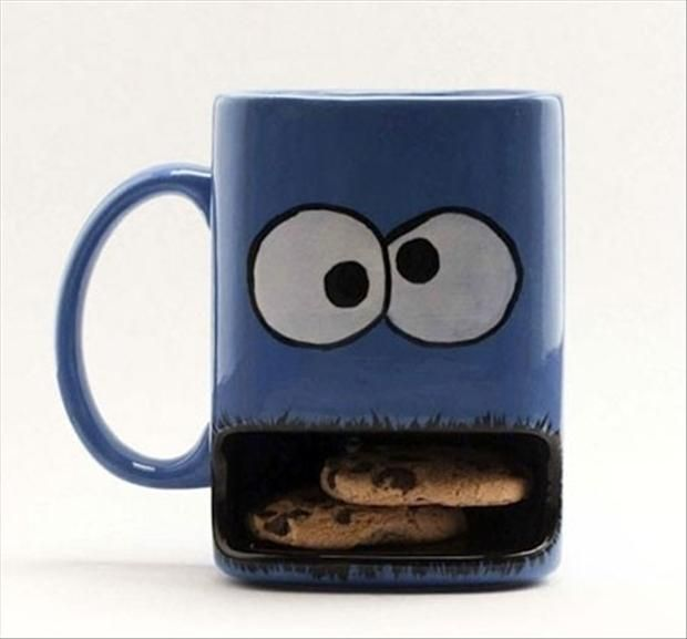 coffee cup and cookie warmer