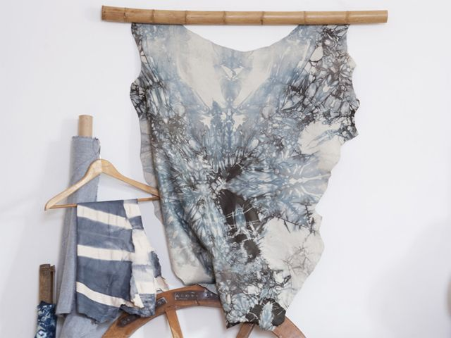 Shibori | Contemporary | Craft | Mixed Media | Traditional Japanese Art | Traditional Japanese Craft | Visual Art | Silk | Leather | Cotton | NSW
