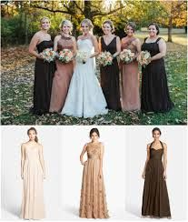 Image result for brown bridesmaids dresses
