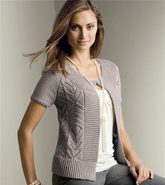 Share Knit and Crochet: Short sleeve jackets