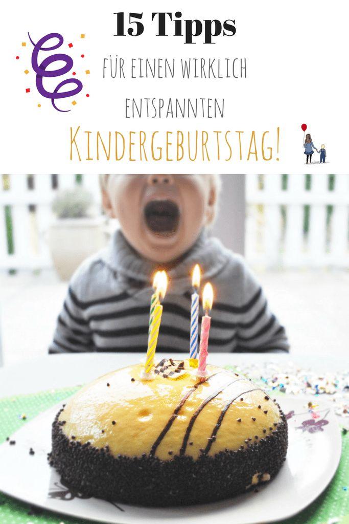 Ideen für einen entspannten Kindergeburtstag, der wirklich glücklich macht! Hacks für die Kinderparty!