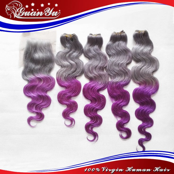 "HOT2015 Super Trend  Grey/ Purple Human Hair Extensions Body Wave Customized Color Mongolian Virgin Hair Body Wave With Closure     #http://www.jennisonbeautysupply.com/  #<script type=\""text/javascript\\\"">  amzn_assoc_placement = \\\""adunit0\\\"";  amzn_assoc_enable_interest_ads = \\\""true\\\"";  amzn_assoc_tracking_id = \\\""jennisonnunez-20\\\"";  amzn_assoc_ad_mode = \\\""auto\\\"";  amzn_assoc_ad_type = \\\""smart\\\"";  amzn_assoc_marketplace = \\\""amazon\\\"";  amzn_assoc_region…"