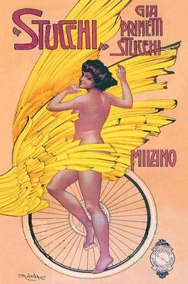 ITALIAN CYCLING JOURNAL: Vintage Cycling Posters With Italian Themes