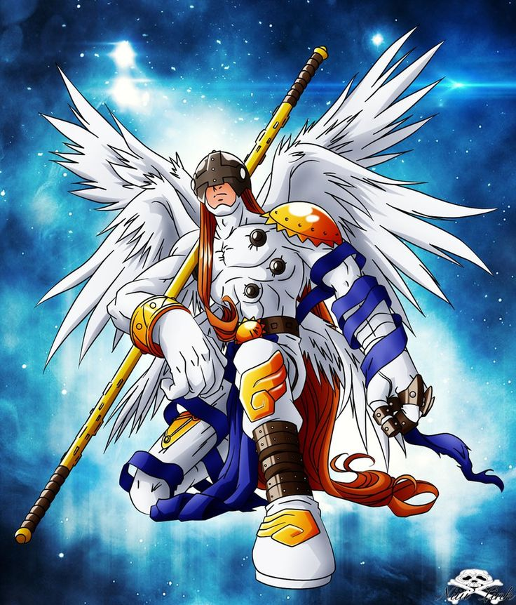 Digimon Wallpaper: 162 Best Images About Angemon & Dark Magician On Pinterest