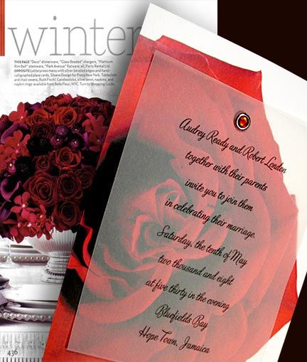 Wedding Invitations Roses   Google Search
