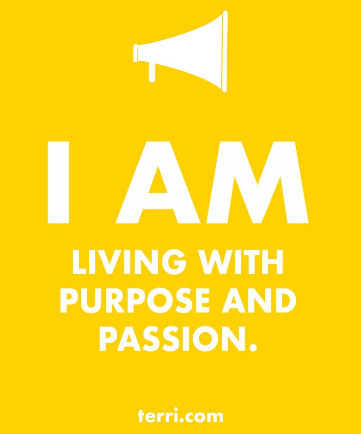 I AM LIVING WITH PURPOSE AND PASSION! Your words are powerful and the words you speak about yourself are even more powerful. Discover what to say from God's Word about your freedom, faith, finances, family, fitness, and your future dreams and goals. Program your mind for success through positive declarations and affirmations to become happier, healthier, and more productive today! Click on the Pin to order my book Pep Talk & find out more about affirmations.
