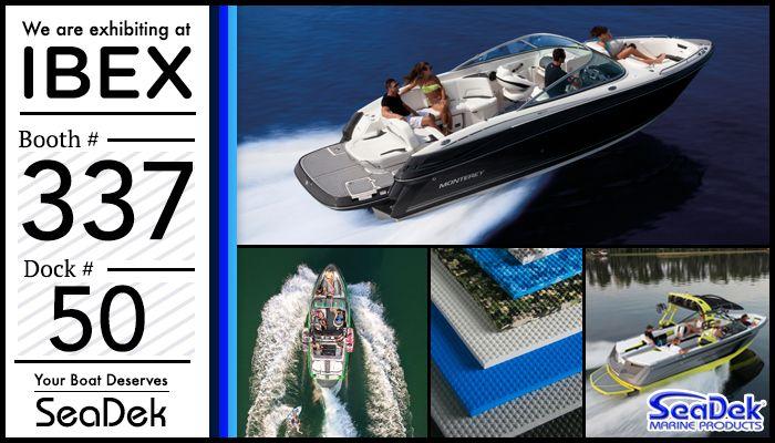 SeaDek in Booth #337 at IBEX | SeaDek Marine Products Blog – Swim Platform Pads