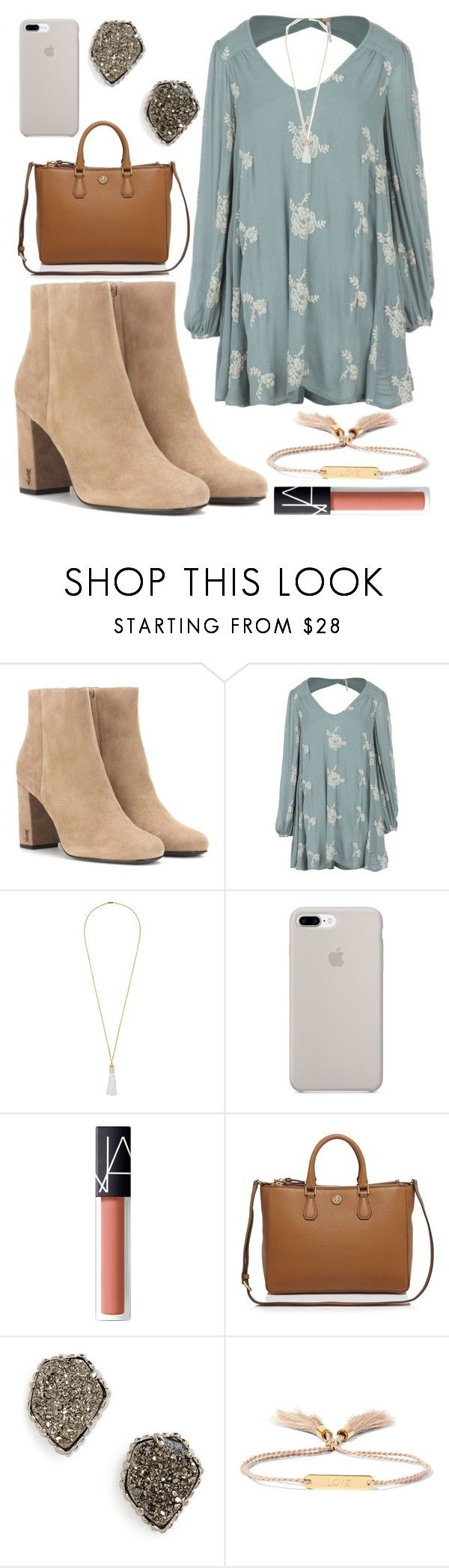 Young Wild Free, Eddie Borgo, Kendra Scott, Nars Cosmetics, Tory Burch,  Free People, Yves Saint Laurent, Saints, Blouses