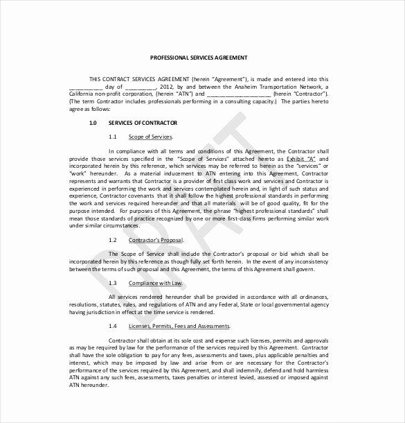 Business Service Contract Template Inspirational 35 Service Agreement Templates Word Pdf Contract Template Agreement Templates