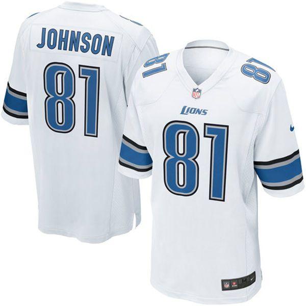 Calvin Johnson Detroit Lions Nike Youth Game Jersey – White - $74.99