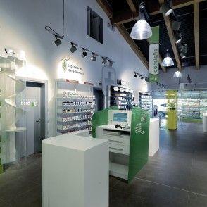 éclairage pharmacie